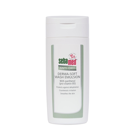 Sebamed anti-dry derma soft wash emulsion 200ML