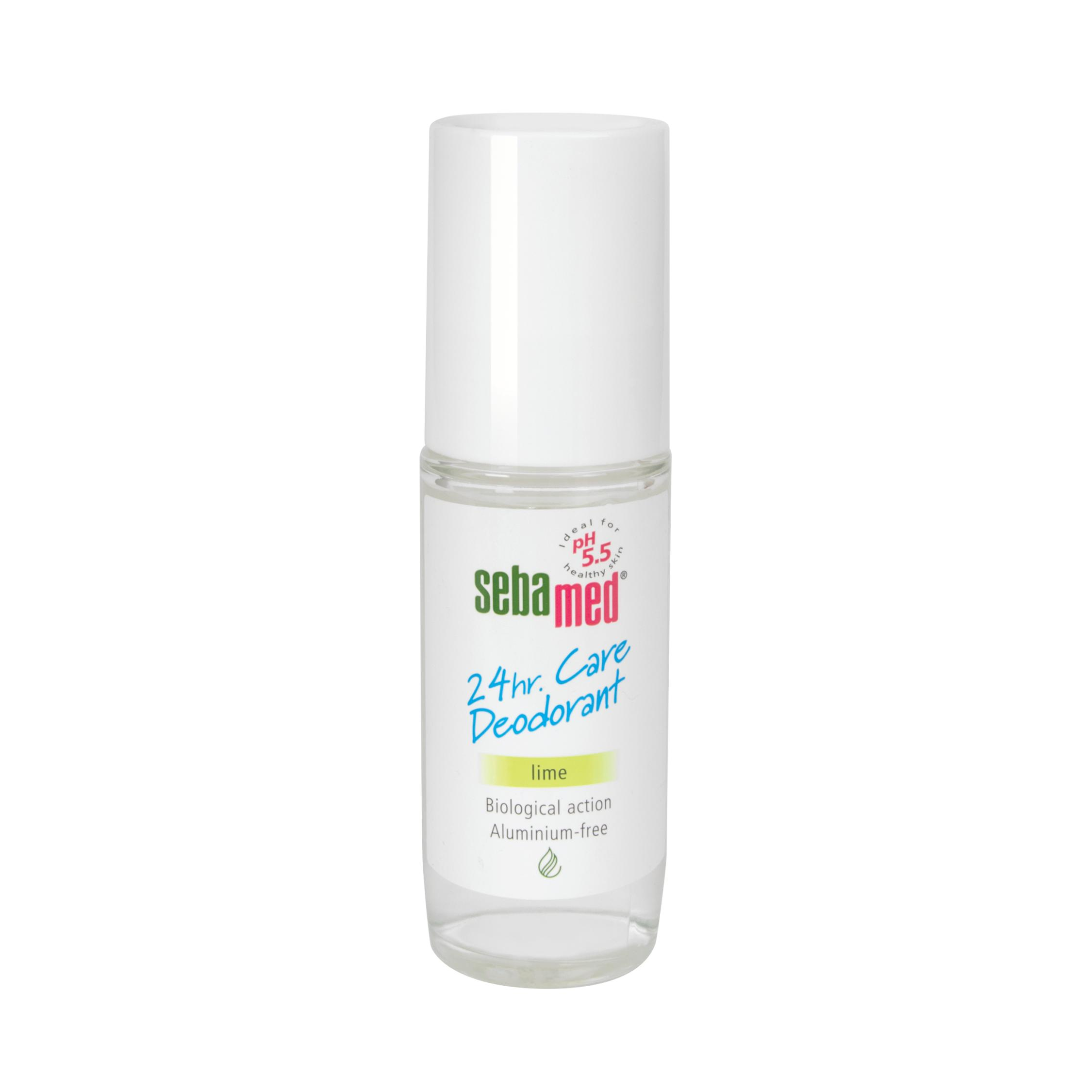 Sebamed 24Hr Deodorant 50ml roll on Lime