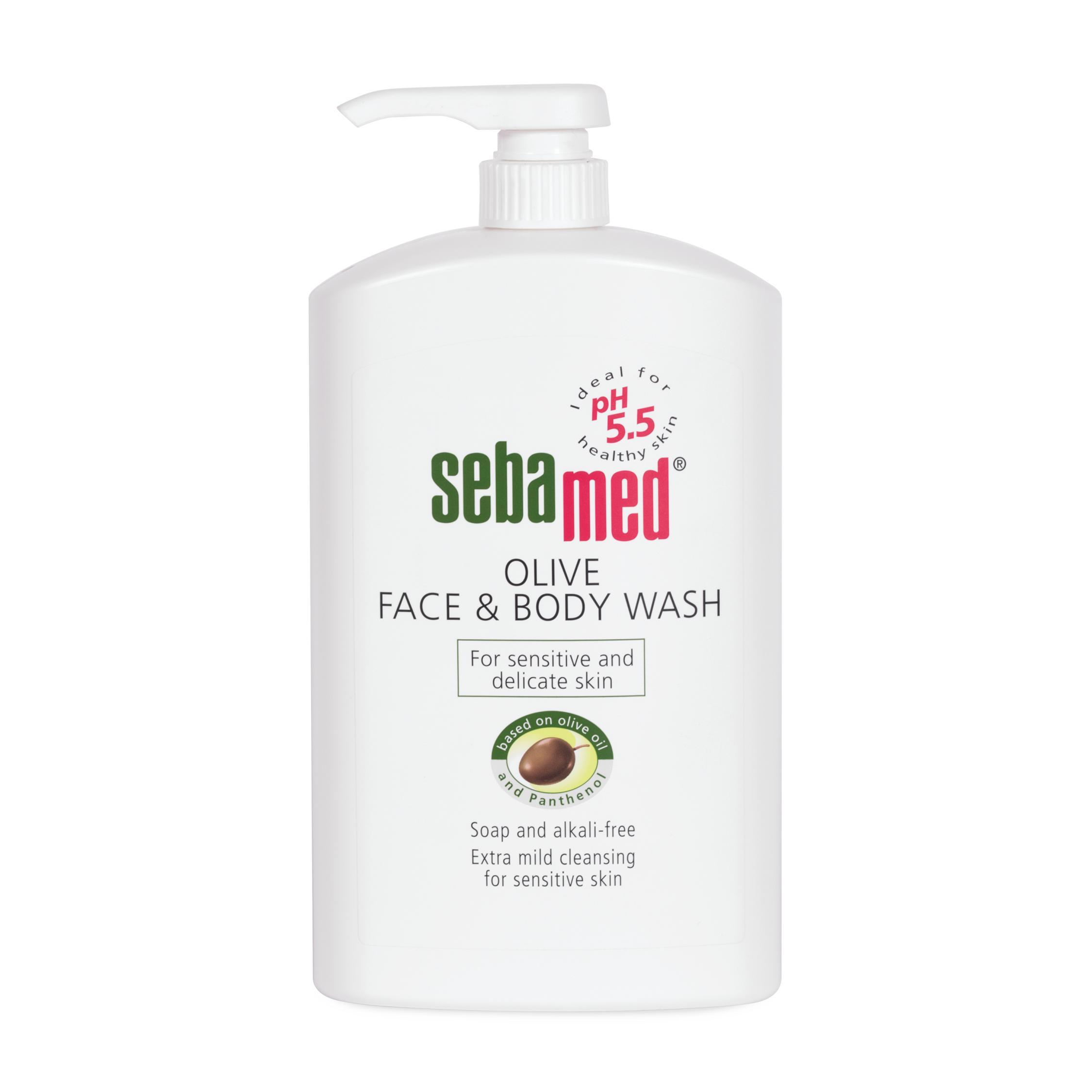 Sebamed Olive Body Wash 1ltr